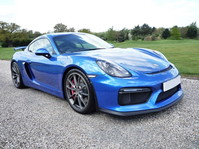 Rain Guards For Cars >> Porsche 981 Cayman GT4 Coupe - Howard Wise Cars