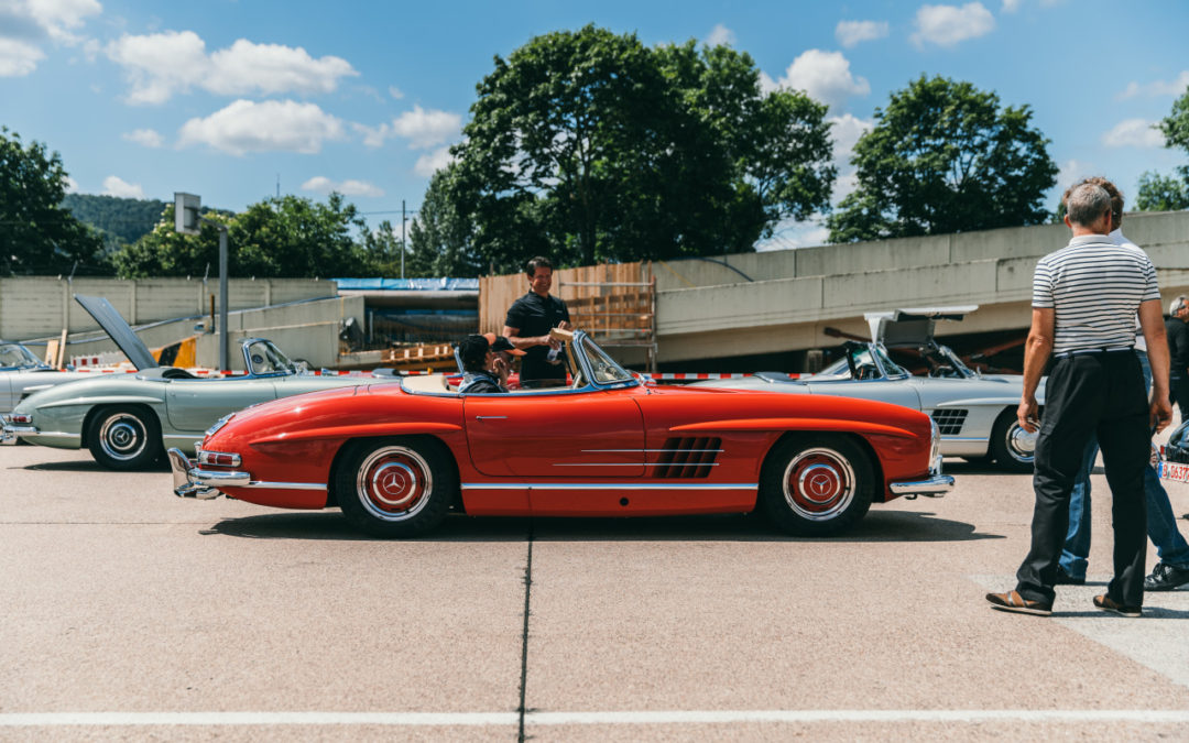 Mercedes Benz 300 SL 60th Anniversary, June, 2017