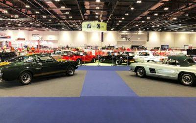 The London Classic Car Show, Feb 15 – 18, 2019